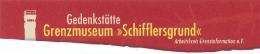 Logo: Gedenkstätte Grenzmuseum Schifflersgrund