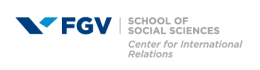 Logo: Center for International Relations at the Getulio Vargas Foundation