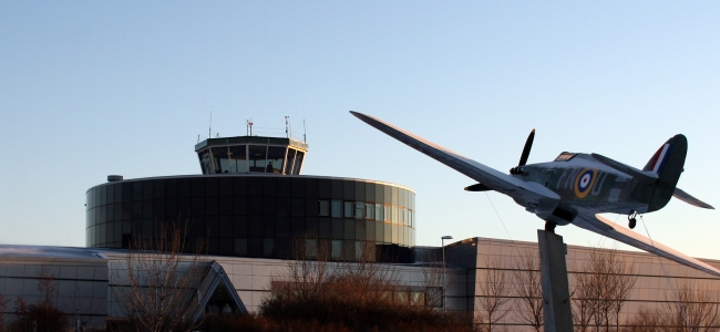 Photo: Museum in Winter, 2008 (c) Norwegian National Aviation Museum